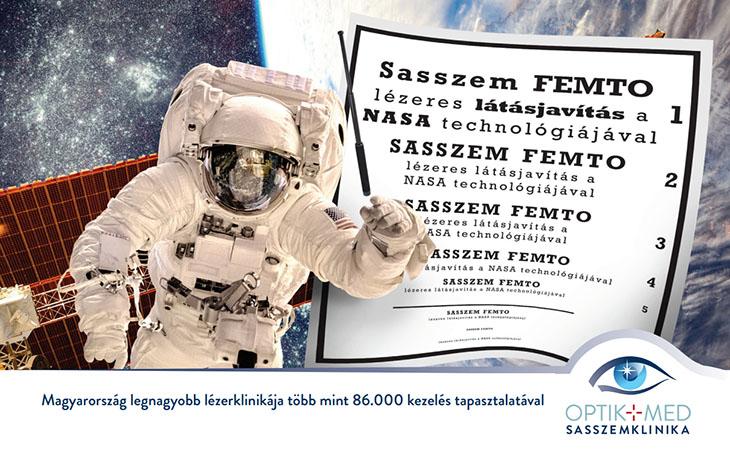 A NASA űrhajósok lézeres szemműtéte mindenkinek elérhető